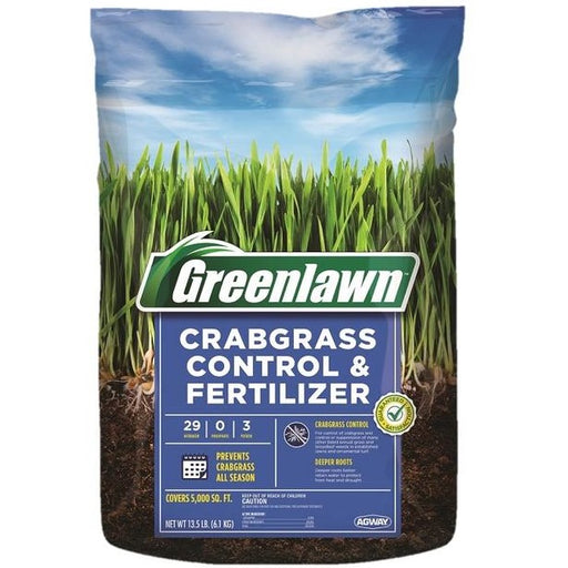 Greenlawn Spring Fertilizer with Crabgrass Control
