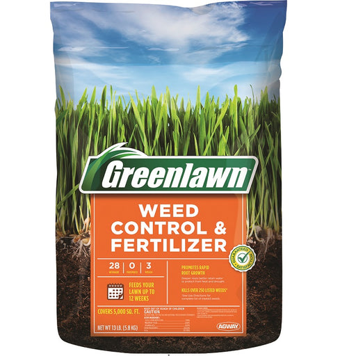Greenlawn Fertilizer with Broadleaf Weed Control
