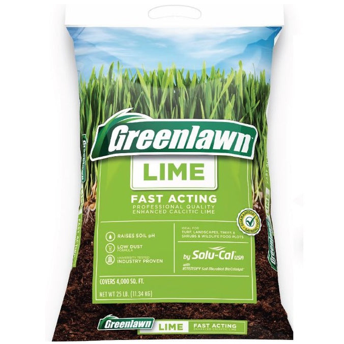 Greenlawn Fast Acting Lime 25 lb. Solucal