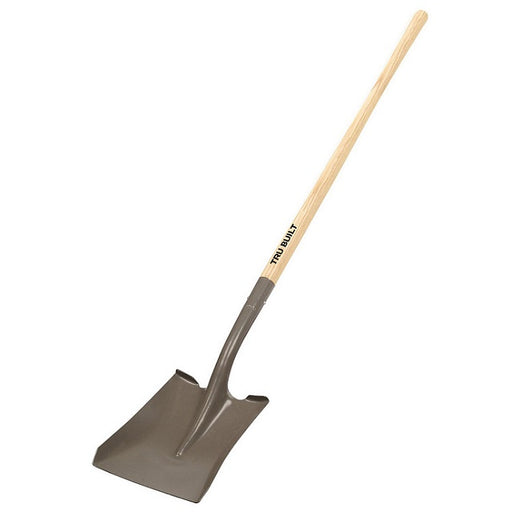 Truper Tru Built Long Handled Square Point Shovel
