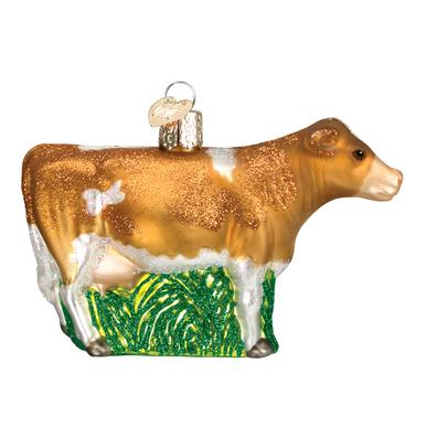 Old World Christmas Dairy Cow Ornament, Assorted