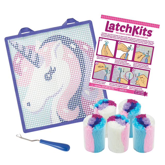 LatchKits™ Unicorn Latch Hook Kit