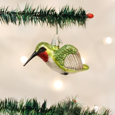Old World Christmas Hummingbird Ornament