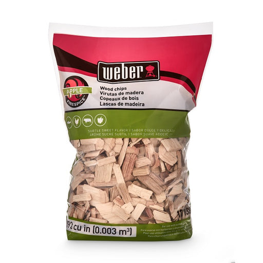 Weber Apple Wood Chips, 192 cu. in.