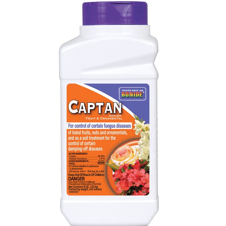 Captan 50% Fruit & Ornamental Wettable Powder 8 oz. - Bonide