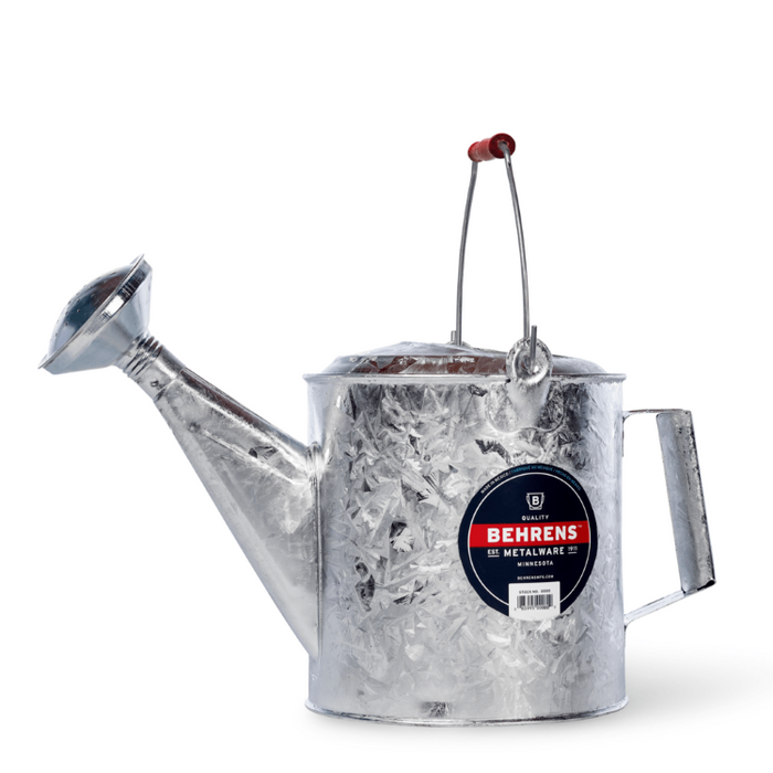 1.5 Gallon Galvanized Watering Can- Behrens