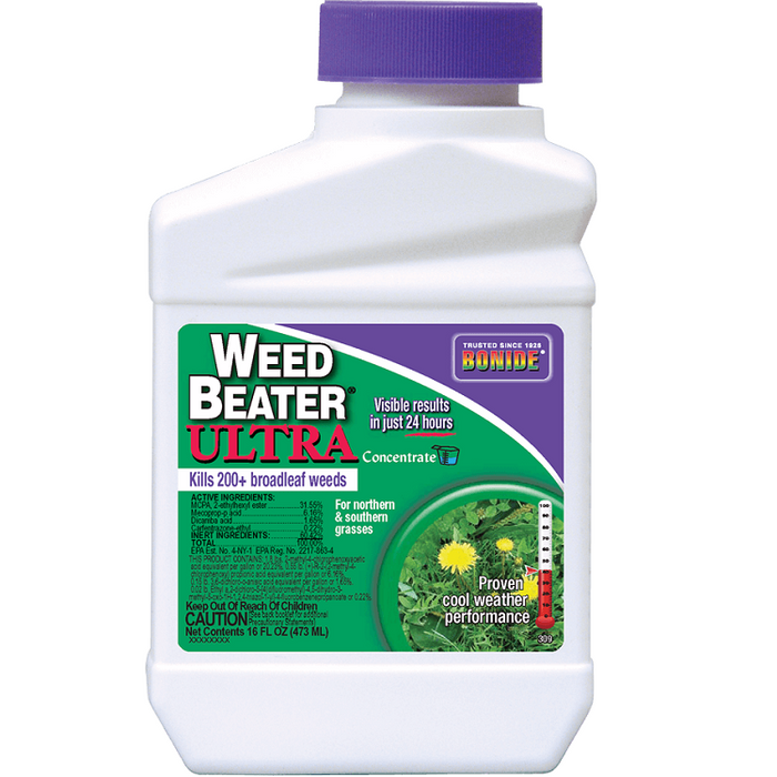 Weed Beater® Ultra, Lawn Weed Killer Concentrate, 16oz. - Bonide