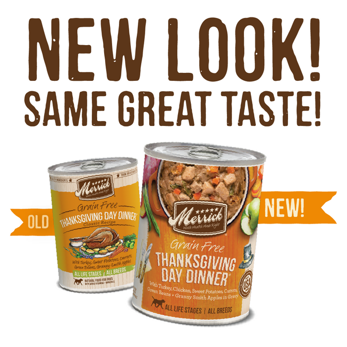 Merrick Grain Free Thanksgiving Day Dinner Canned Dog Food