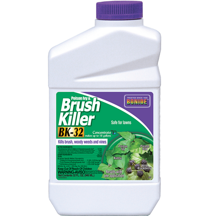 Brush Killer, BK-32 Concentrate, 32 oz. - Bonide