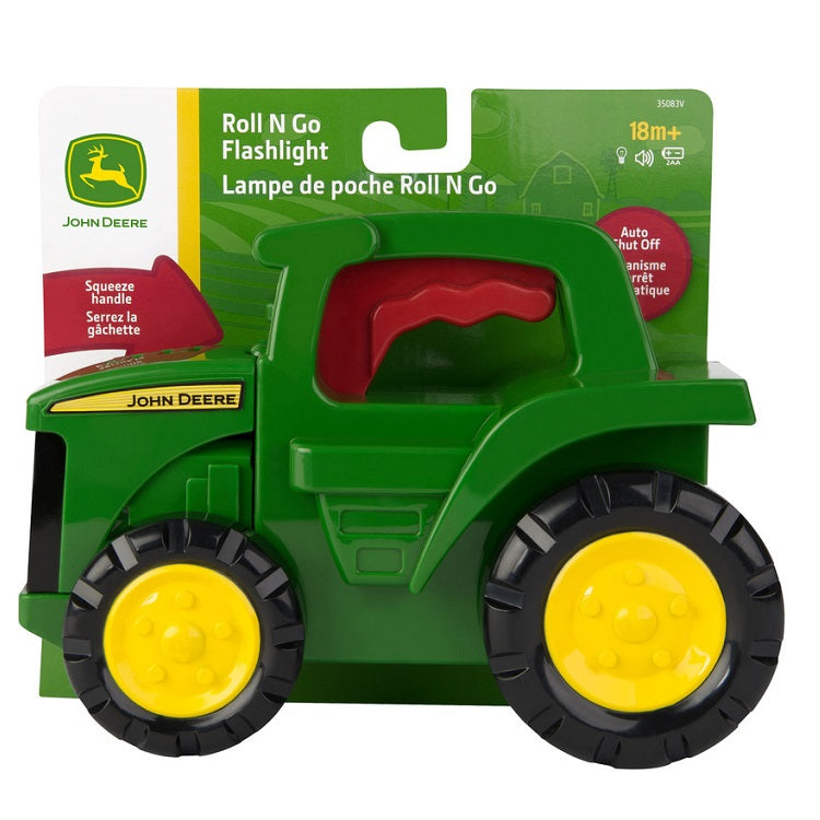 John Deere Roll and Go Flashlight