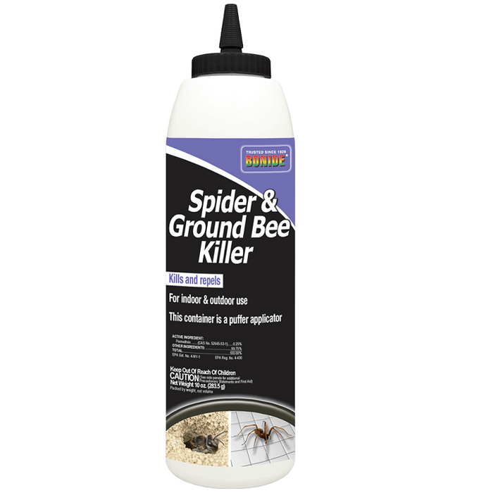 Spider & Ground Bee Killer, 10 oz.- Bonide