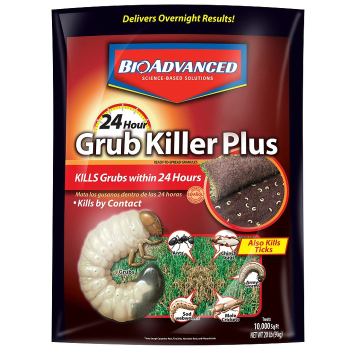 Grub Control Plus, 24 Hour Grub Control - BioAdvanced