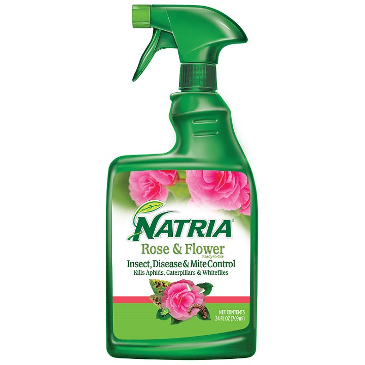 Natria Rose & Flower Insect, Disease & Mite Control, 24 oz., Ready-To-Use