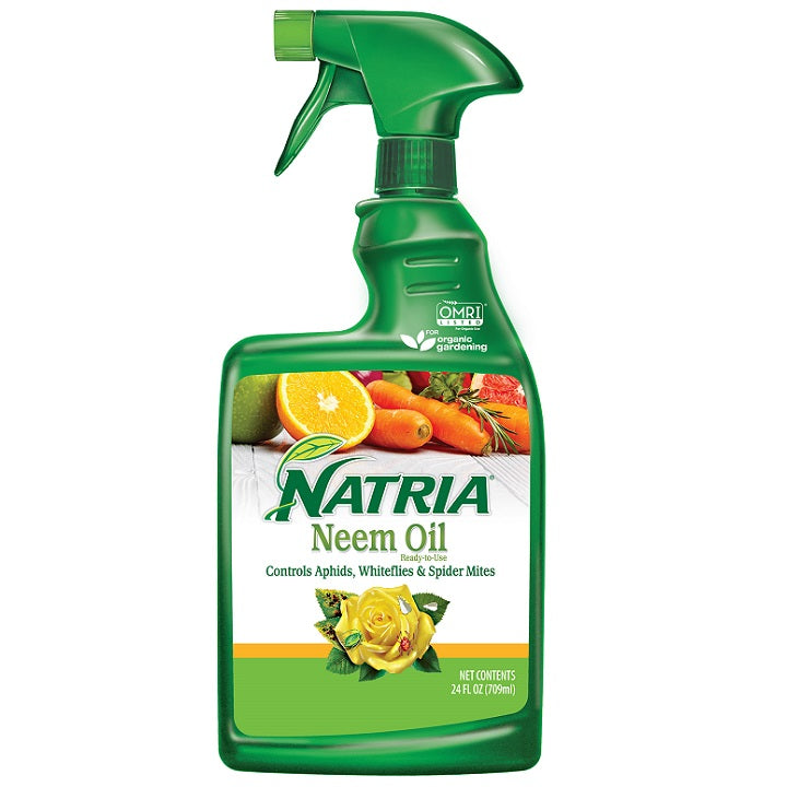 Neem Oil, Ready-to-Use, 24 oz. - Natria