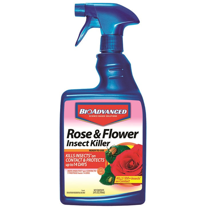 Rose & Flower Insect Control, 24 oz. Ready-to-Use, BioAdvanced
