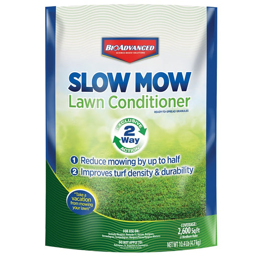 Slow Mow Lawn Conditioner Granules 10.4 lb. - BioAdvanced