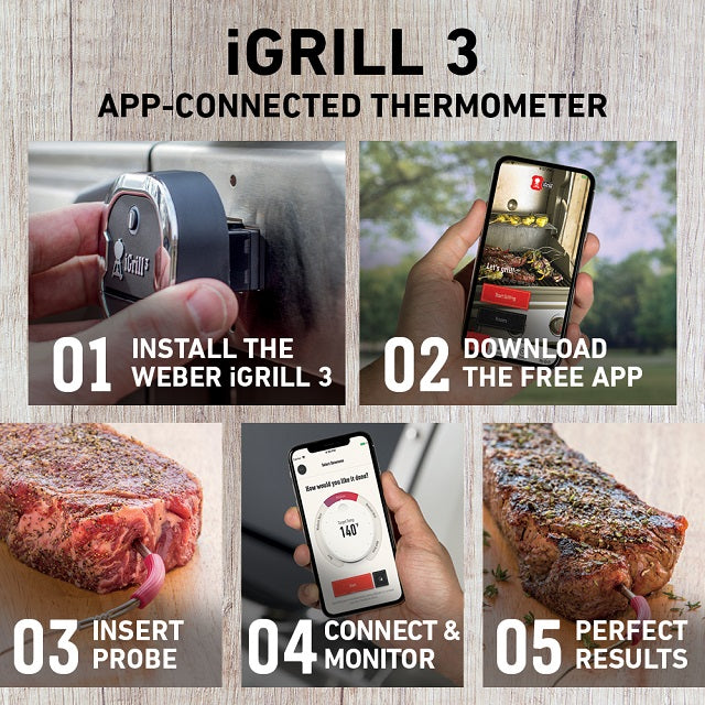 Weber iGrill 3 App-Connected Thermometer