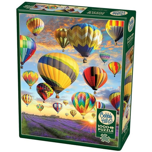 Cobble Hill 1000 Piece Jigsaw Puzzle, Hot Air Balloons