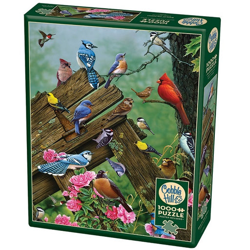 Cobble Hill 1000 Piece Jigsaw Puzzle, Birds of the Forest