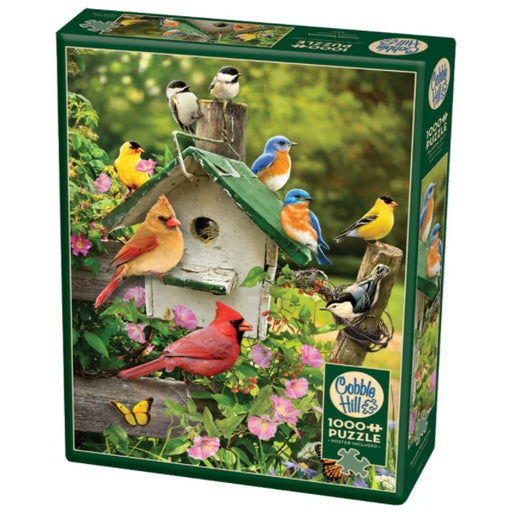 Cobble Hill 1000 Piece Jigsaw Puzzle, Summer Birdhouse