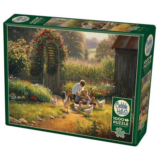 Cobble Hill 1000 Piece Jigsaw Puzzle, Feeding Time