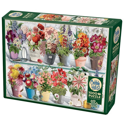 Cobble Hill 1000 Piece Jigsaw Puzzle, Beaucoup Bouquet