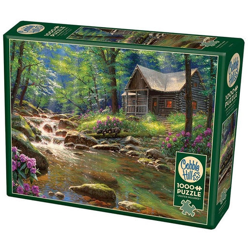 Cobble Hill 1000 Piece Jigsaw Puzzle, Fishing Cabin