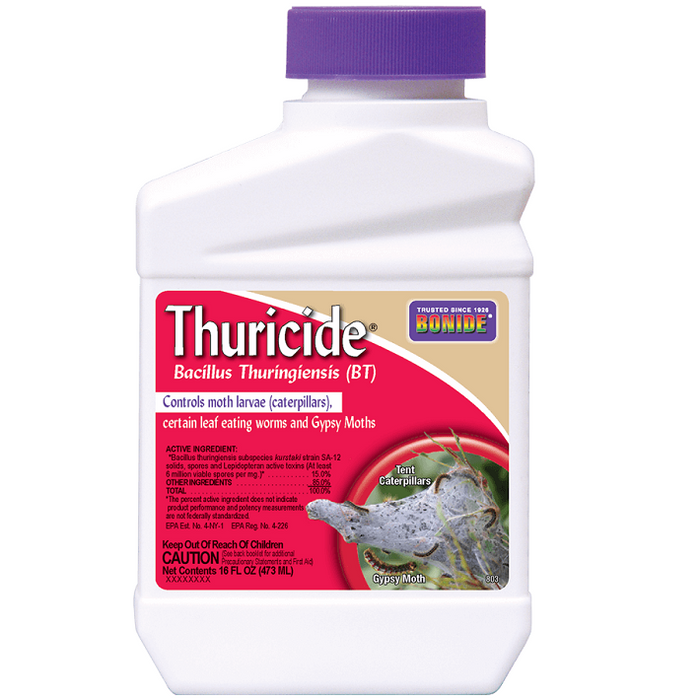 Thuricide (BT), 16 oz. Concentrate- Bonide