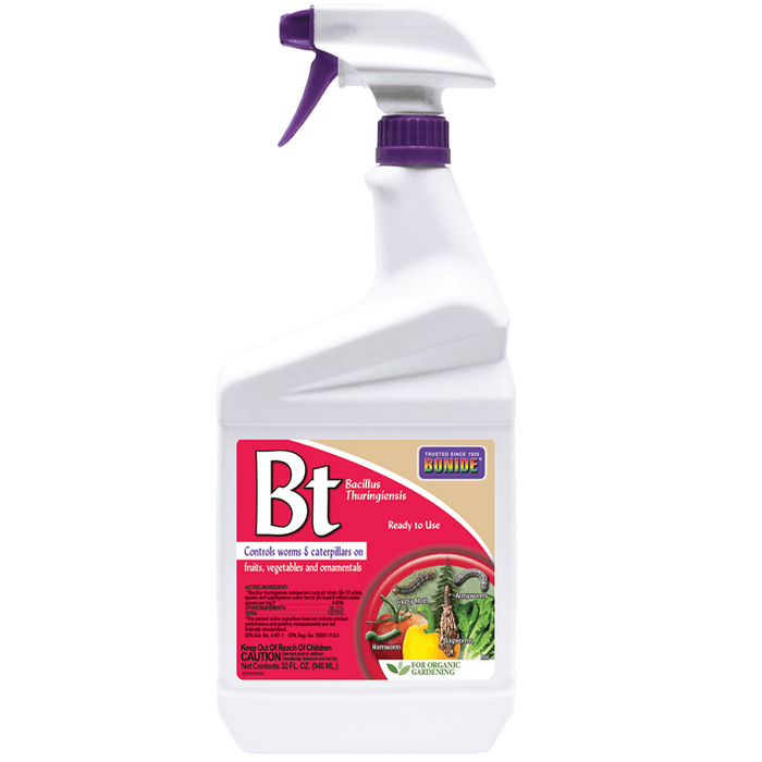 Thuricide (BT), 32 oz. Ready-to-Use, Bonide