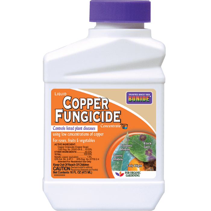 Copper Fungicide Concentrate, 16 oz. - Bonide