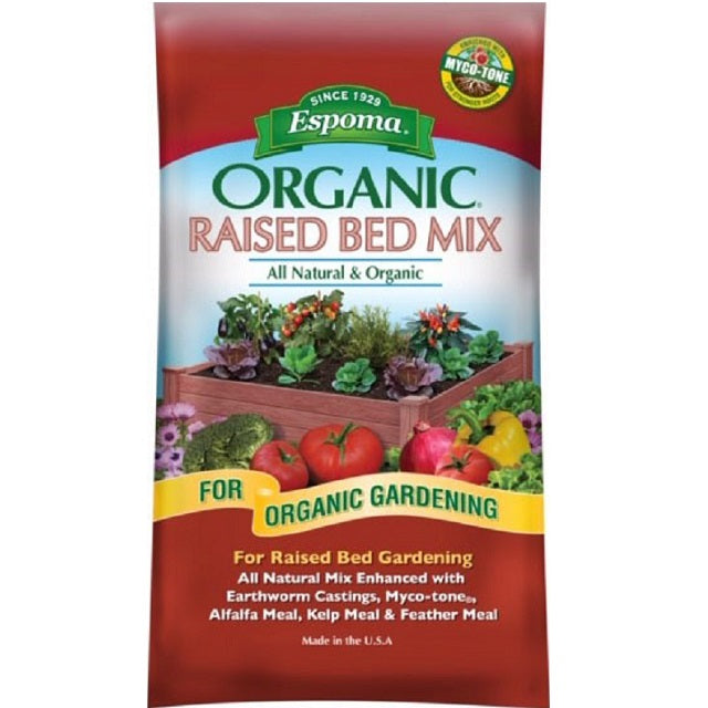 Espoma Organic Raised Bed Planting Mix 1 Cu. Ft.