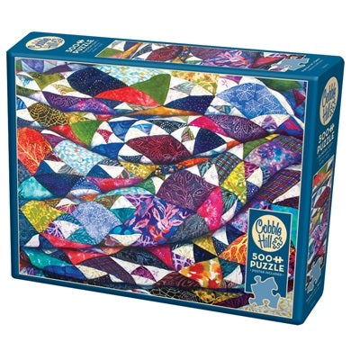 Cobble Hill 500 Piece Jigsaw Puzzle, Portrait of a Quilt