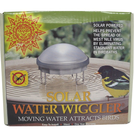 Water Wiggler for Bird Bath, Solar Powered #8WW