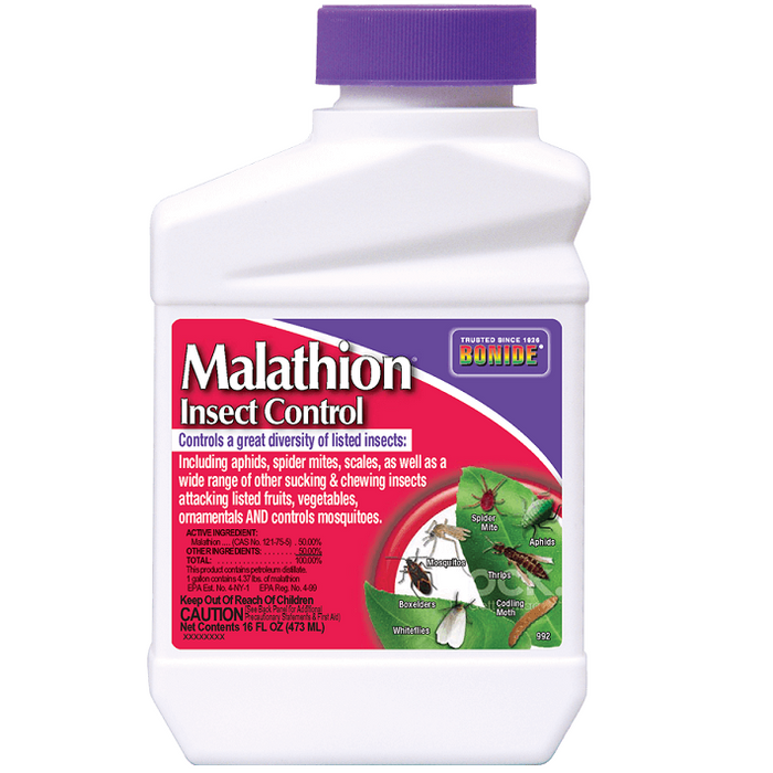Malathion Insect Control, 16 oz Concentrate- Bonide