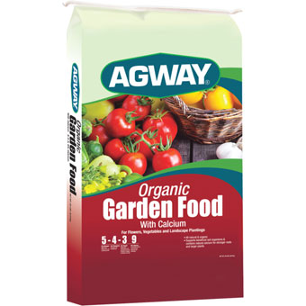 Agway Organic Garden Food with Calcium, 20 Lb.