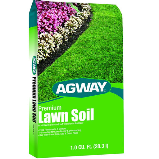Agway Premium Lawn Soil, 1 cu. ft. bag