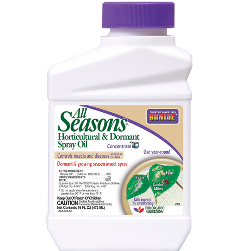 All Seasons Spray Oil, Concentrate