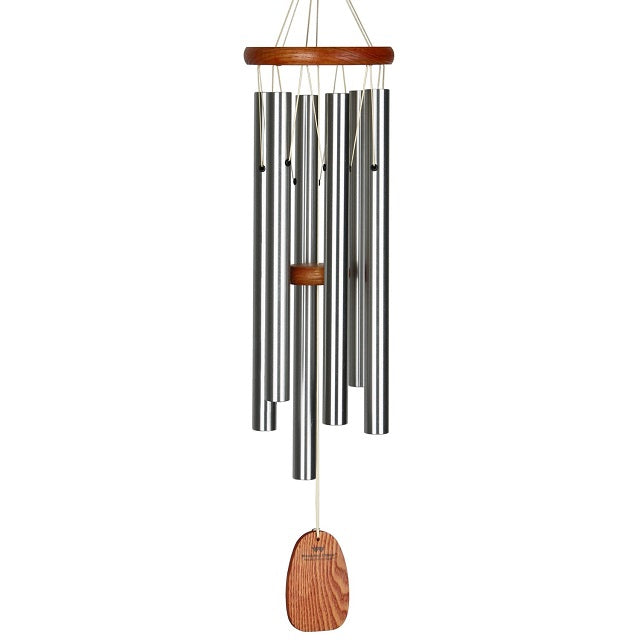 Amazing Grace Wind Chime - Medium, Silver