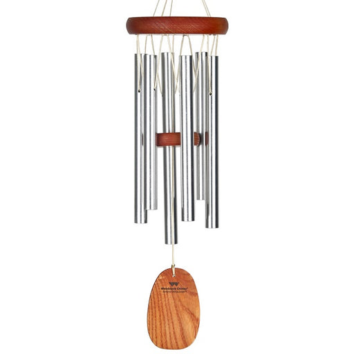 Amazing Grace Wind Chime - Small, Silver