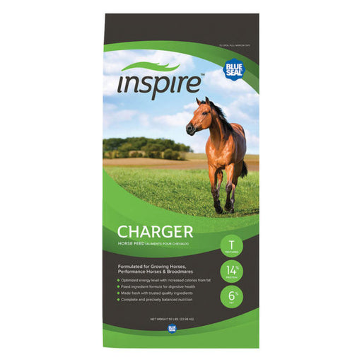 Blue Seal Inspire Charger Horse Feed, 50 lbs.