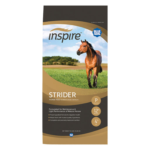 Blue Seal Inspire Strider Horse Feed, 50 lbs.