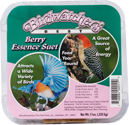 Birdwatchers Best Berry Essence Suet, 12-Pack