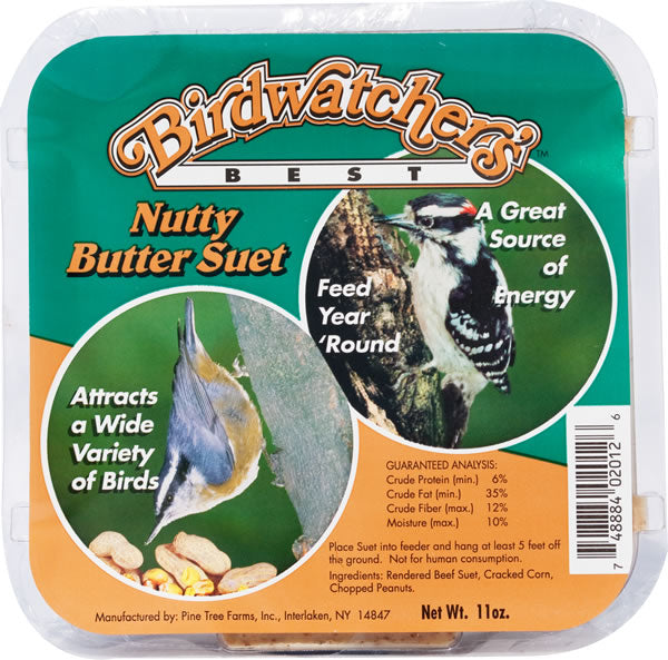 Birdwatchers Best Suet Nutty Butter