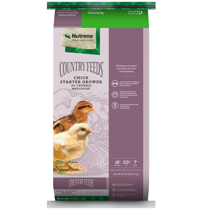Country Feeds Chick Starter Grower Medicated Feed