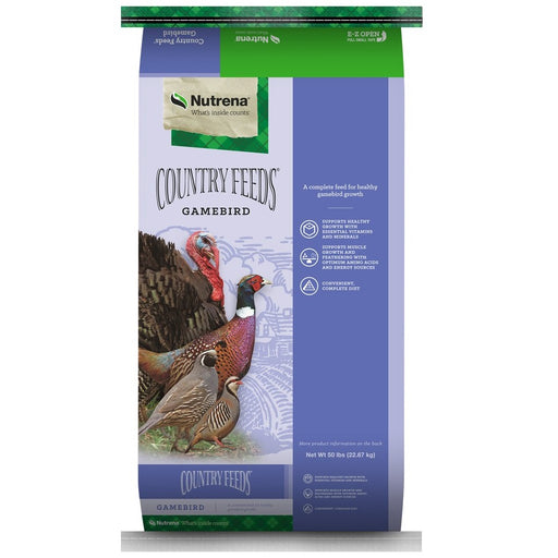 Country Feeds Gamebird Feed 21% Grower 50lb
