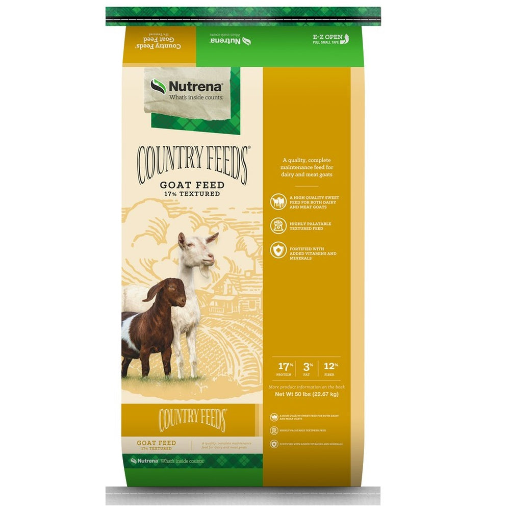 Country Feeds 17% Textured Goat Feed 50lb