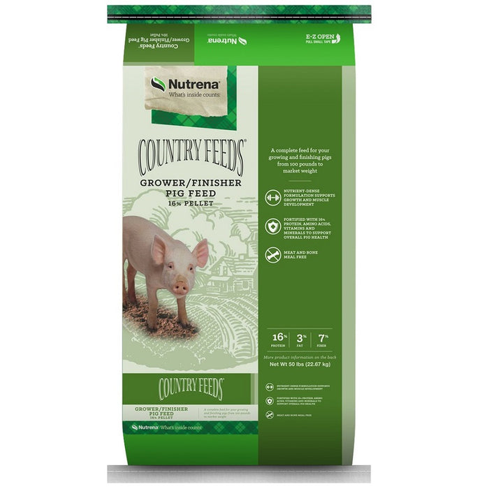 Country Feeds Grower Finisher Pig Feed 50lb