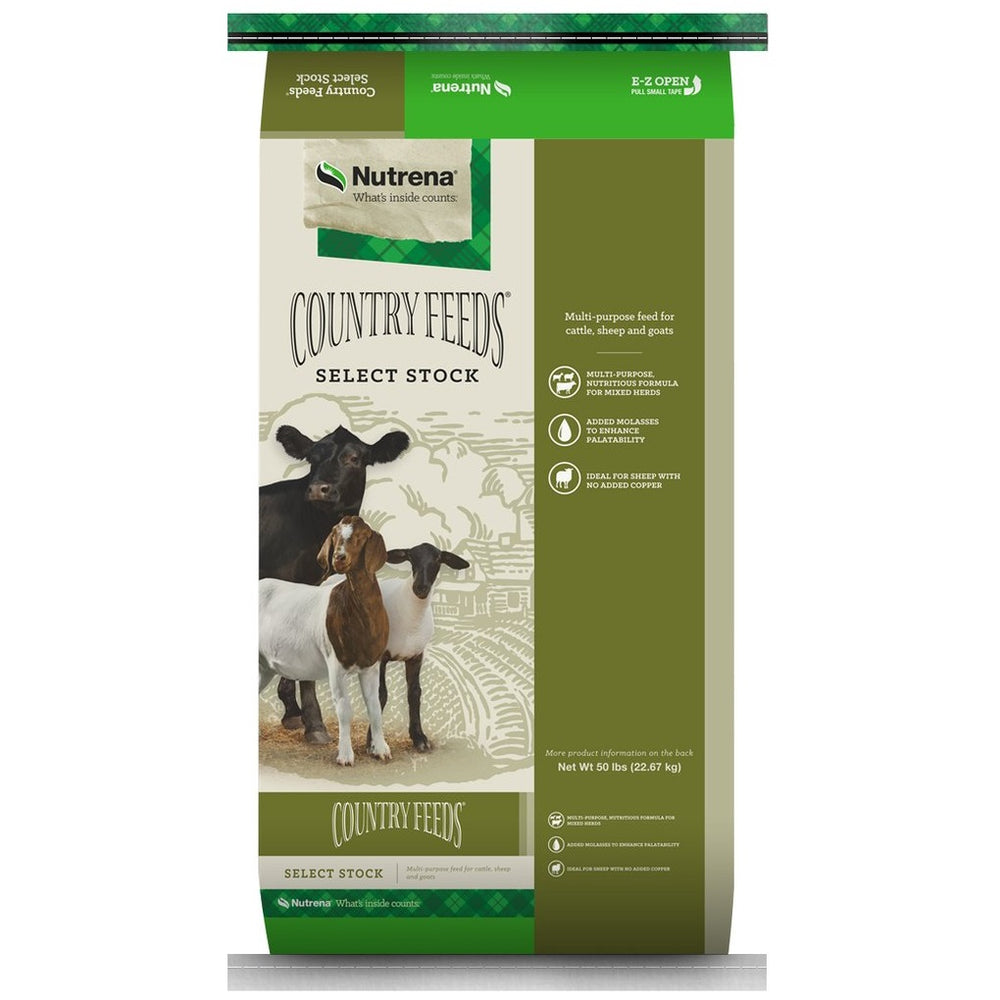 Country Feeds Select Stock Textured Feed