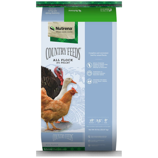 Country Feeds All Flock Feed 50lb