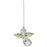 Crystal Guardian Angel Suncatcher - Peridot (August)